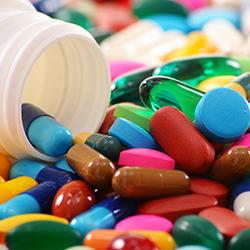 Analyse von pharmazeutischen Rohstoffen