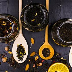 Analyse von Tee, Kräutertee und Früchtetee