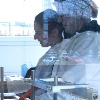 Probenaufarbeitung im Labor für die Lebensmittelanalytik